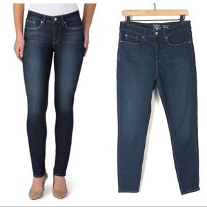 Levi's High Rise Totally Shaping Skinny Jeans 10S